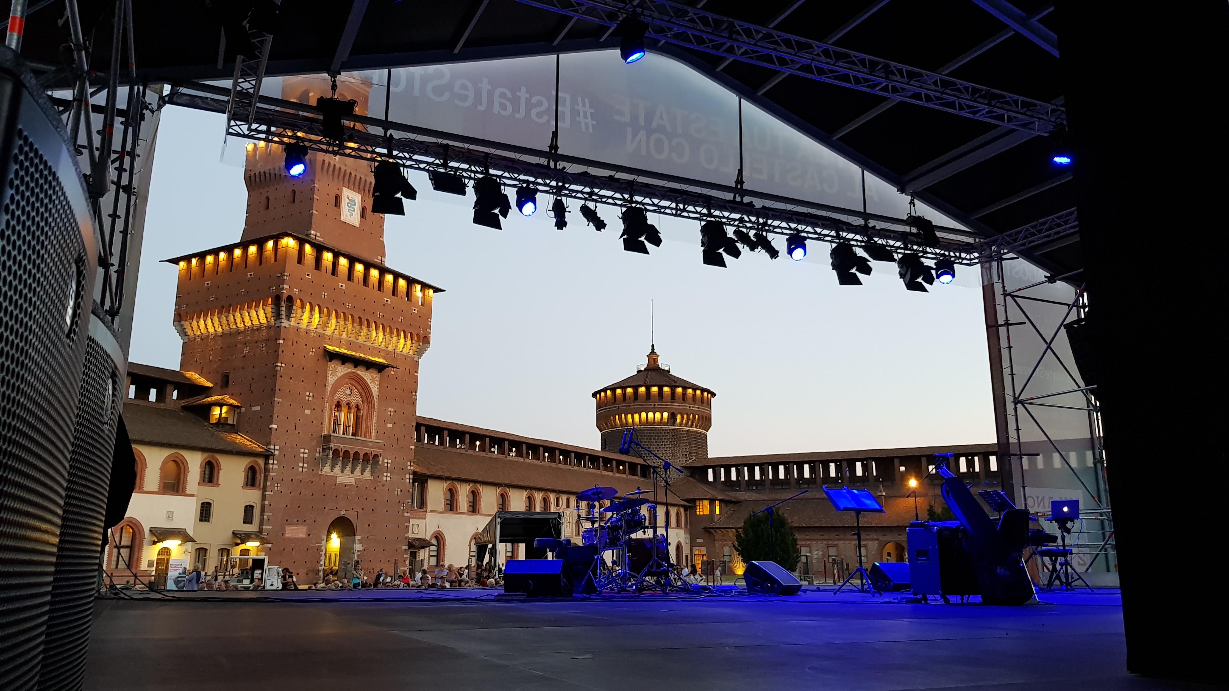 WALTANJAZZ jazz concert at Sforzesco Castle 2017, Milan Italy